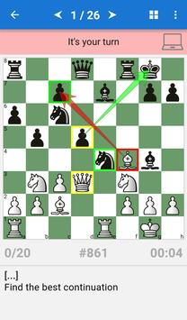Chess Middlegame II poster