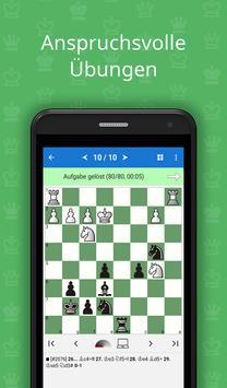 Matt in 3-4 (Schachpuzzle) Plakat