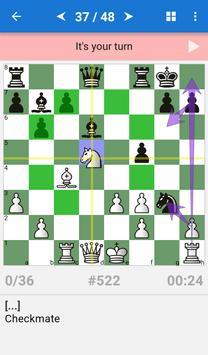 Chess Tactics Art (1400-1600 ELO) ảnh chụp màn hình 1
