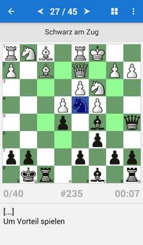 Schach Taktik für Amateure (1400-1600 ELO) Plakat