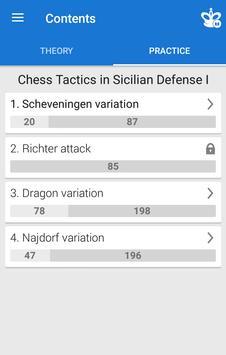 Chess Tactics in Sicilian Defense 1 Screenshot 1
