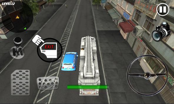 Crazy FireTruck Parking 3D screenshot 4