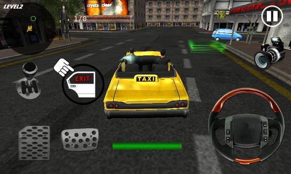 Extreme Taxi Crazy Driving Simulator Parking Games screenshot 3