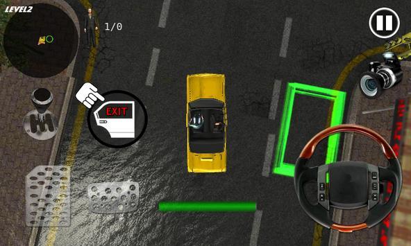 Extreme Taxi Crazy Driving Simulator Parking Games screenshot 4