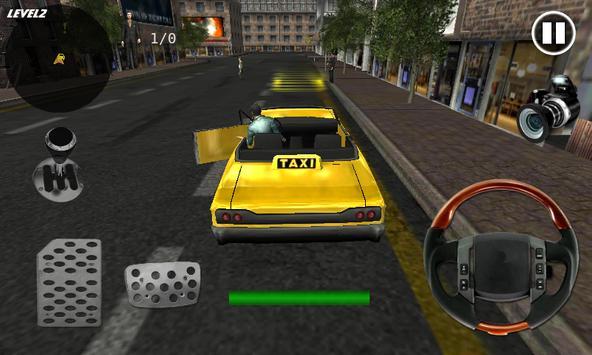 Extreme Taxi Crazy Driving Simulator Parking Games screenshot 8