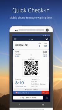 China Airlines App screenshot 2