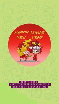 Chinese Lunar Year Sticker for WhatsApp Messenger poster