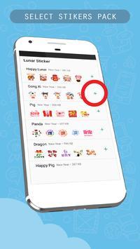 Chinese Lunar Year Sticker for WhatsApp Messenger screenshot 1