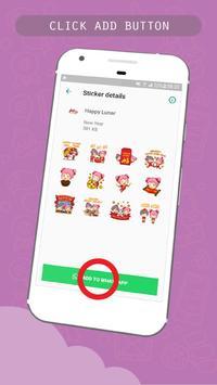Chinese Lunar Year Sticker for WhatsApp Messenger screenshot 2