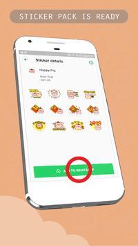 Chinese Lunar Year Sticker for WhatsApp Messenger screenshot 3