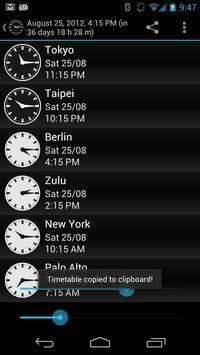 Weltzeituhr Screenshot 1
