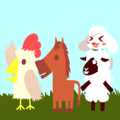 Hints Ultimate Chicken Horse: free icon
