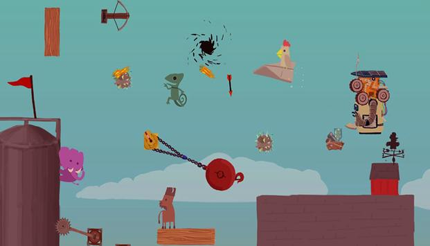 Hints Ultimate Chicken Horse: free poster