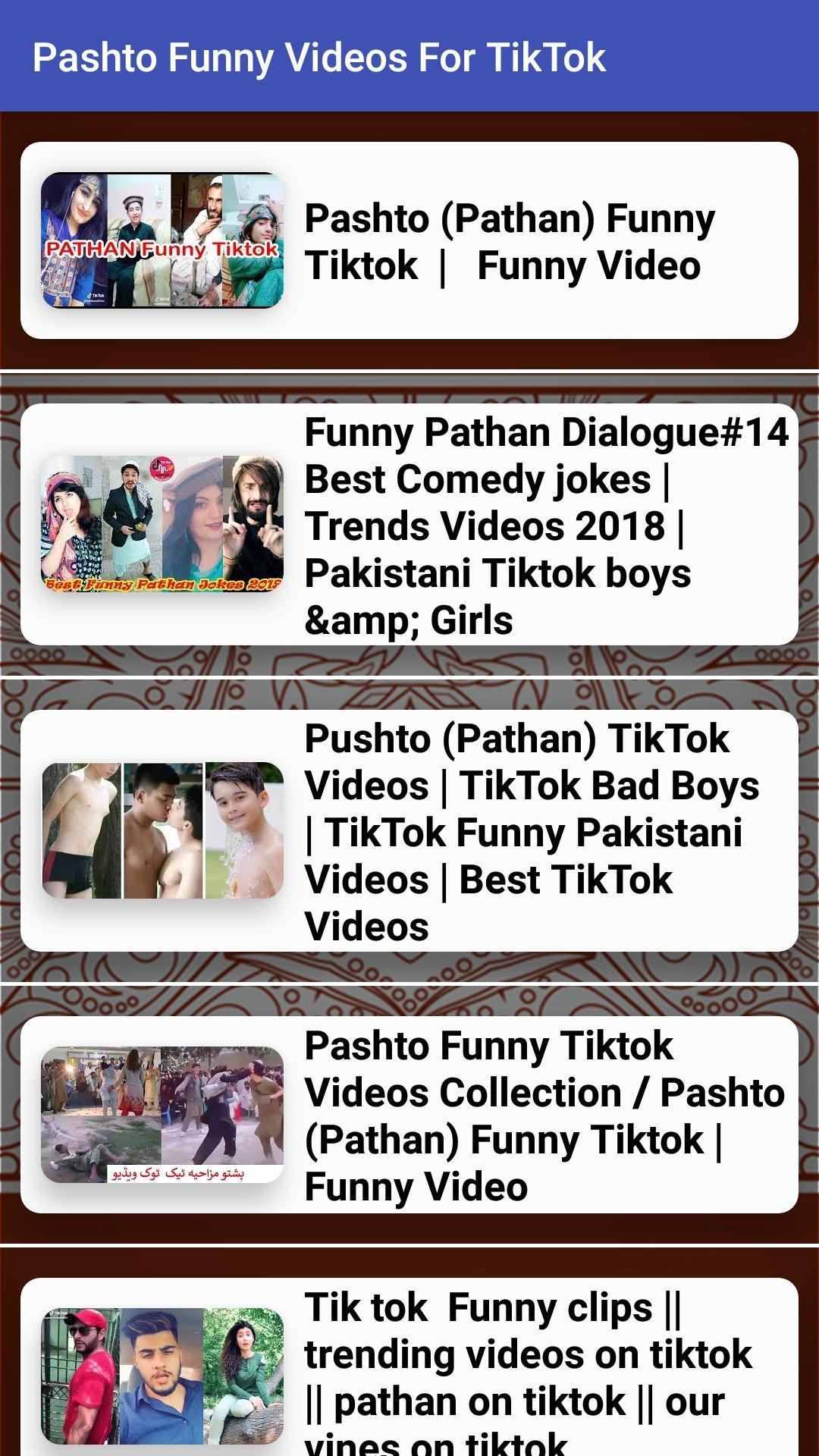 Pashto Funny Videos For Tik Tok For Android Apk Download