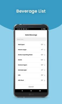 Chillzie – Precise Wine & Beverage Cooling Sleeve screenshot 2