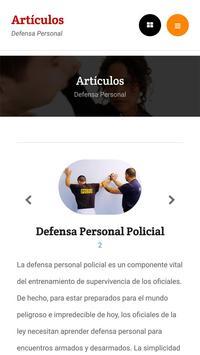Aprender Defensa Personal screenshot 2