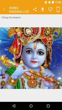 Shree Krishna Live Wallpapers 2019 screenshot 6