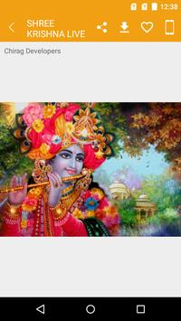 Shree Krishna Live Wallpapers 2019 screenshot 7