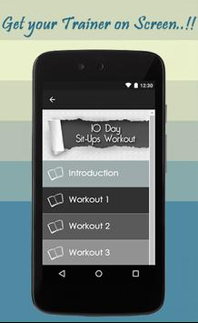 10 Day Sit-ups Workout Guide screenshot 1