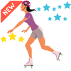 Sky Roller - Air Skating Game icon