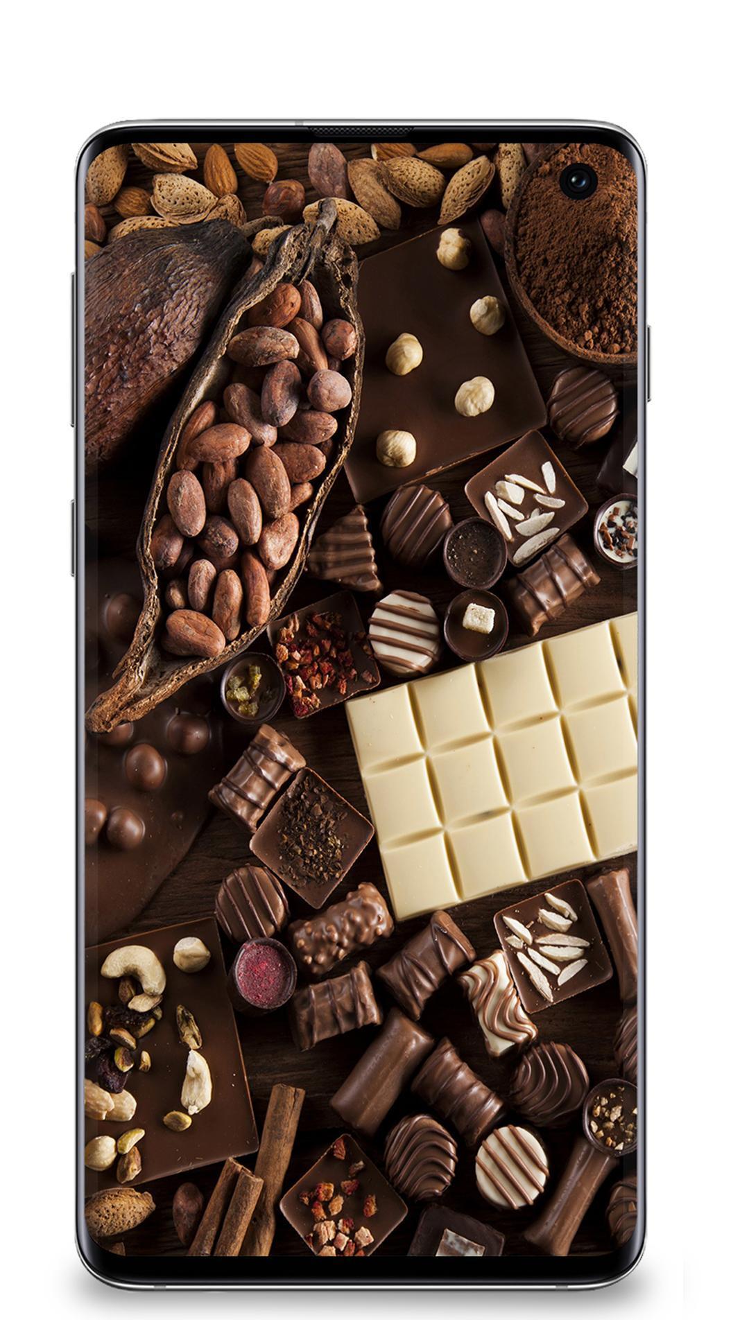 Fond D Ecran Au Chocolat Pour Android Telechargez L Apk
