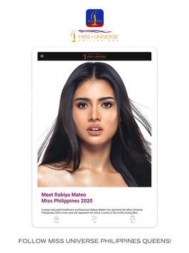 Miss Universe Philippines captura de pantalla 7