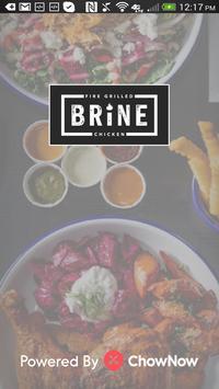Brine poster