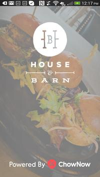 House and Barn poster