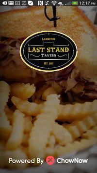 Last Stand Tavern poster