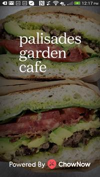 Palisades Garden Cafe poster