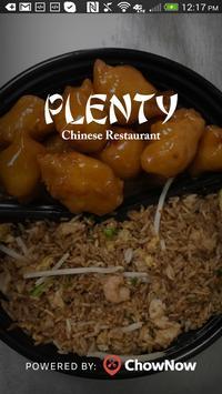 Plenty Chinese - Chicago poster