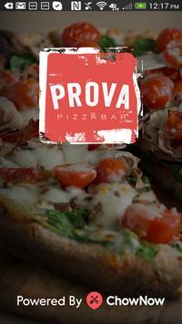 Prova Pizzabar - NYC poster