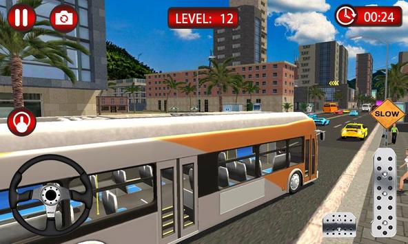 Clutch Driving - Bus Simulator 3D poster