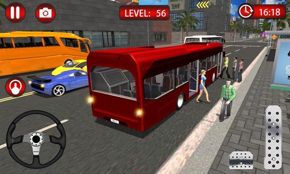 Clutch Driving - Bus Simulator 3D screenshot 1