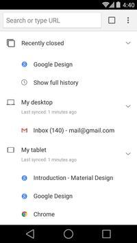 Chrome Beta screenshot 3