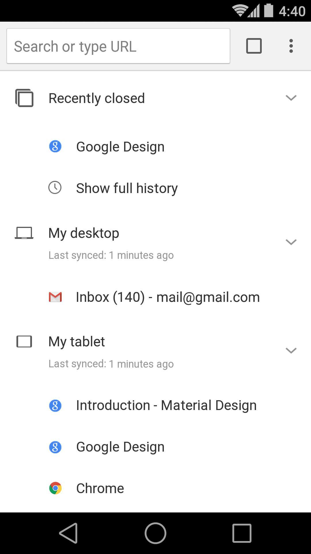 Chrome Dev for Android - APK Download