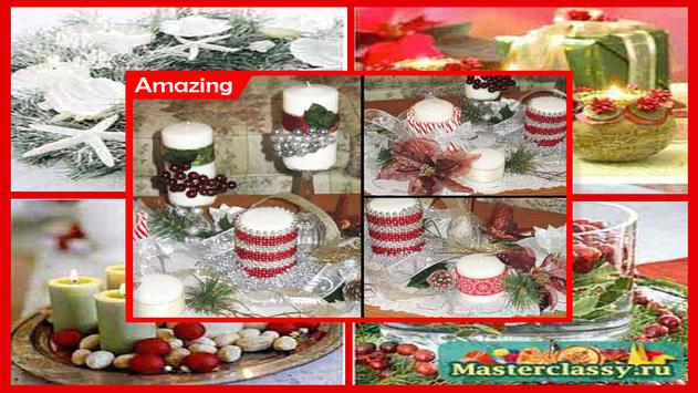 how to decorate a candle with ribbon screenshot 4