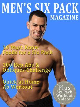 Men's Six Pack Magazine poster