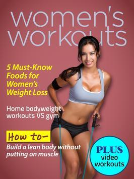 Women's Workouts Magazine screenshot 1