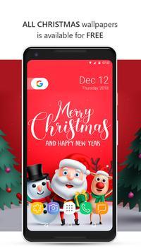 Christmas Live Wallpaper & Christmas Backgrounds poster