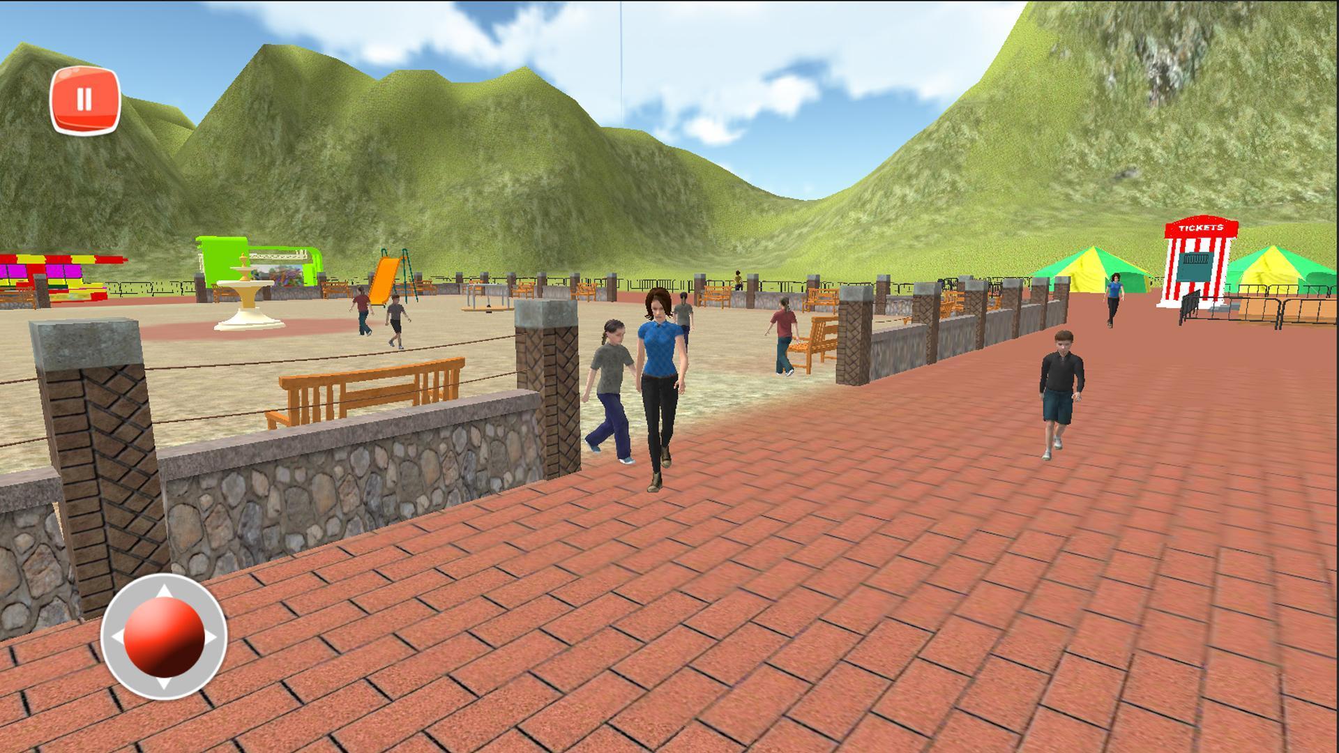 Amusement Theme Park Speed Rides Theme Park For Android Apk