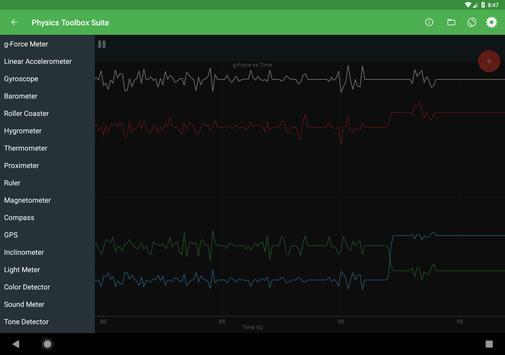 Physics Toolbox Sensor Suite screenshot 8