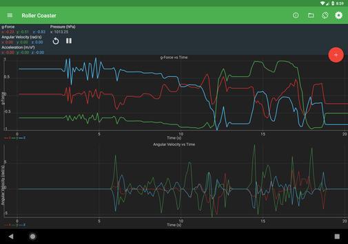 Physics Toolbox Sensor Suite screenshot 9