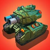 Impossible tank battle icon