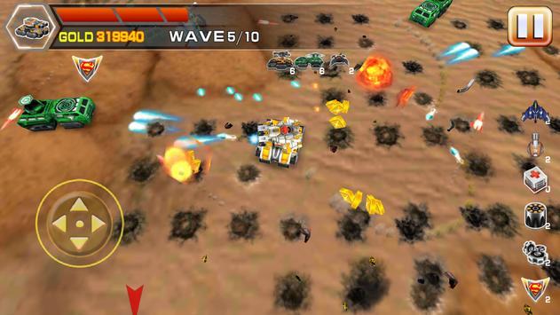 Impossible tank battle screenshot 2