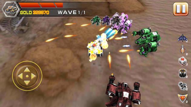 Impossible tank battle screenshot 4