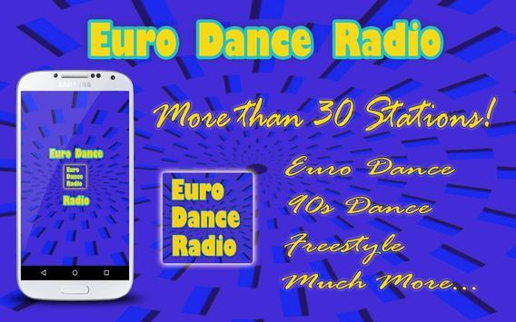 Euro Dance Radio Cartaz
