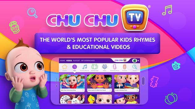 ChuChu TV Nursery Rhymes Videos Pro - Learning App постер