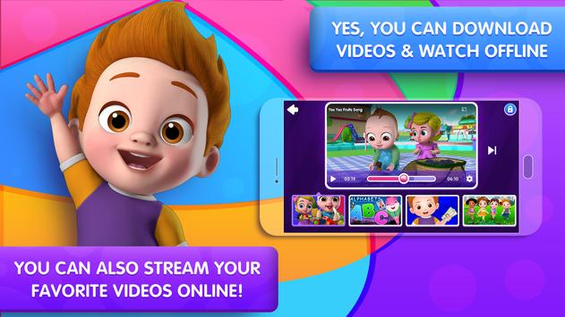 ChuChu TV Nursery Rhymes Videos Pro - Learning App скриншот 9