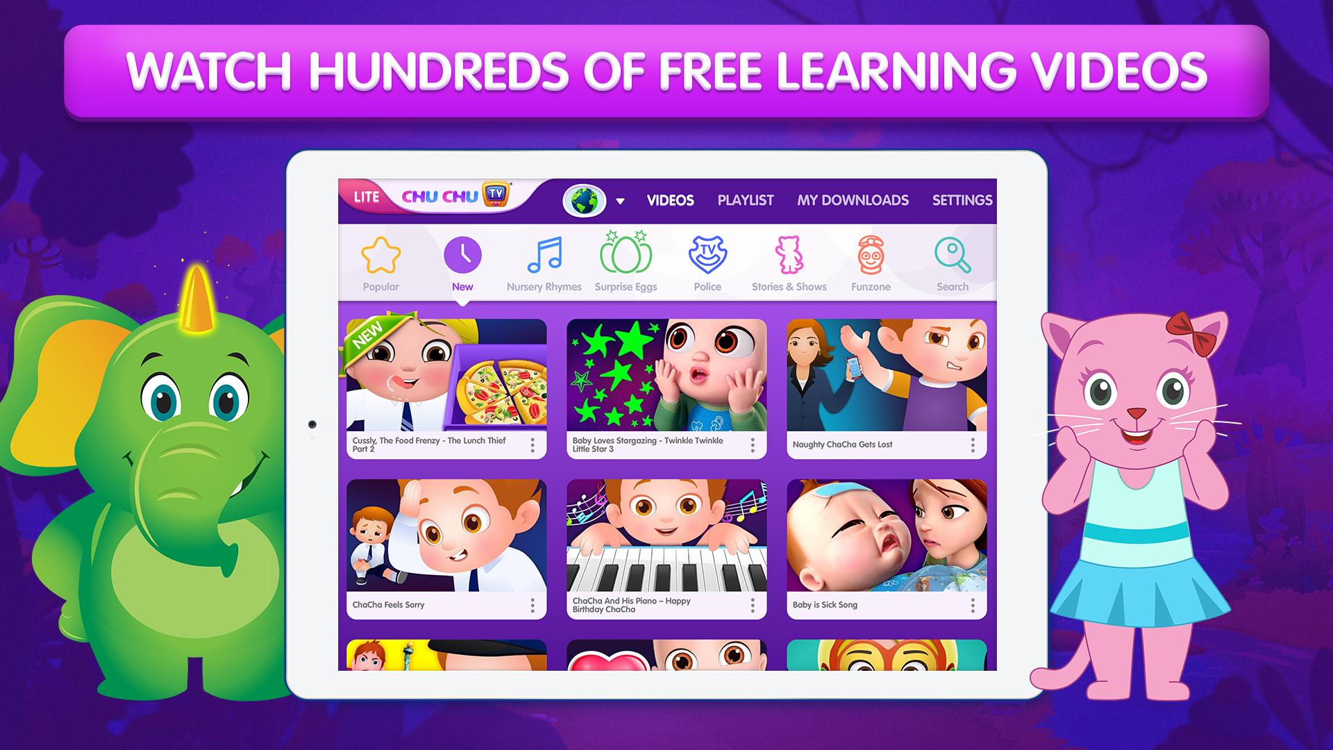 ChuChu TV LITE Best Nursery Rhymes Videos For Kids for